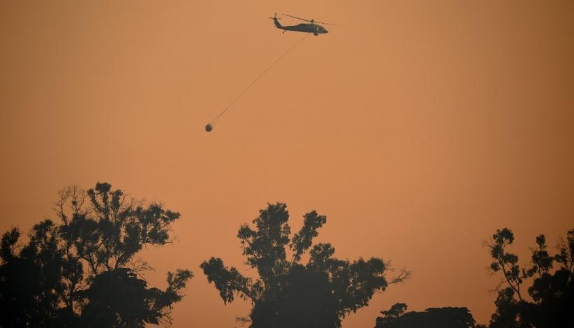 Kebakaran Terganas di California Selatan, Api Hanguskan 3.200 Hektare Lahan Termasuk Puluhan Rumah