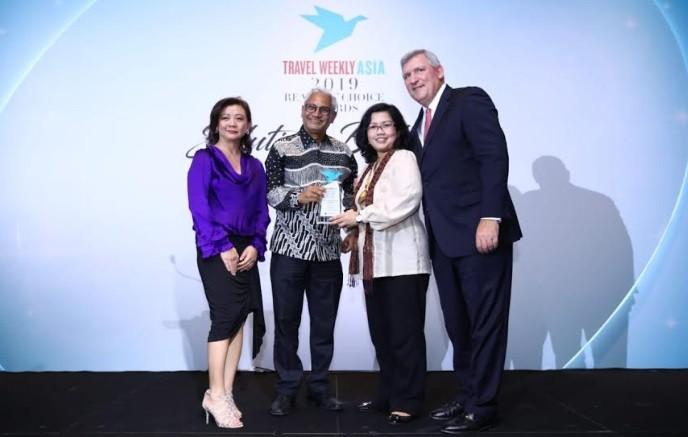 Indonesia Raih 3 Penghargaan Travel Weekly Asia 2019 Readers Choice Awards Singapura