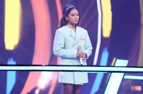 Trianetha Curi Perhatian Coaches di Babak Battle The Voice Indonesia 2019