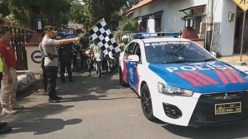 Polisi Gelar Pasukan di Lapangan Benteng Medan, Besok Arus Lalu Lintas Akan Dialihkan