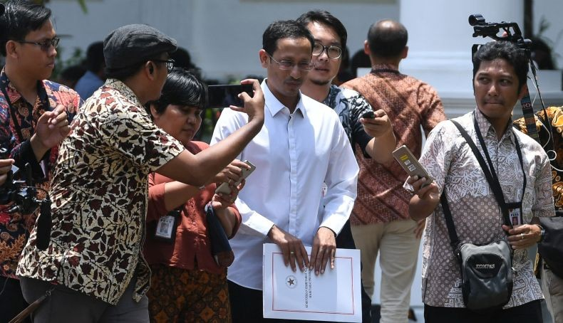 Media Singapura dan Malaysia Soroti Penunjukan Nadiem Makarim sebagai Menteri