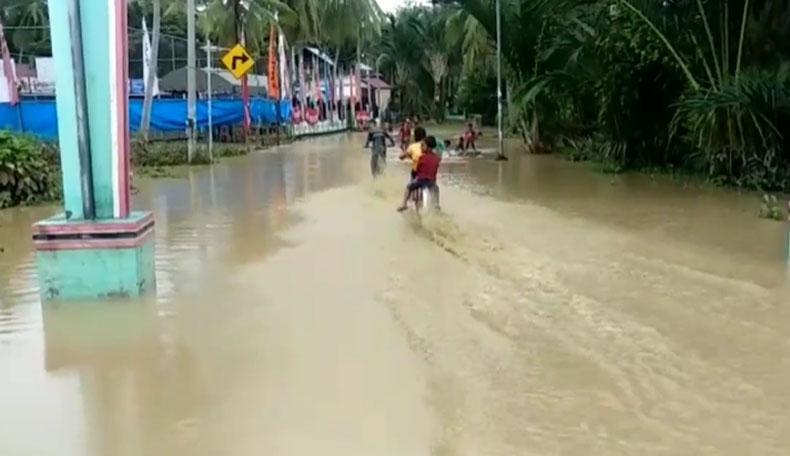 Banjir Landa 2 Kabupaten di Aceh akibat Hujan Deras, Ratusan Rumah Terendam