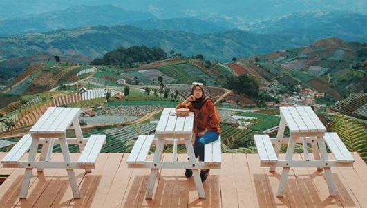 Terpikat Keindahan Bukit Mercury Majalengka, Eksotis Bisa Lihat Gunung Ceremai