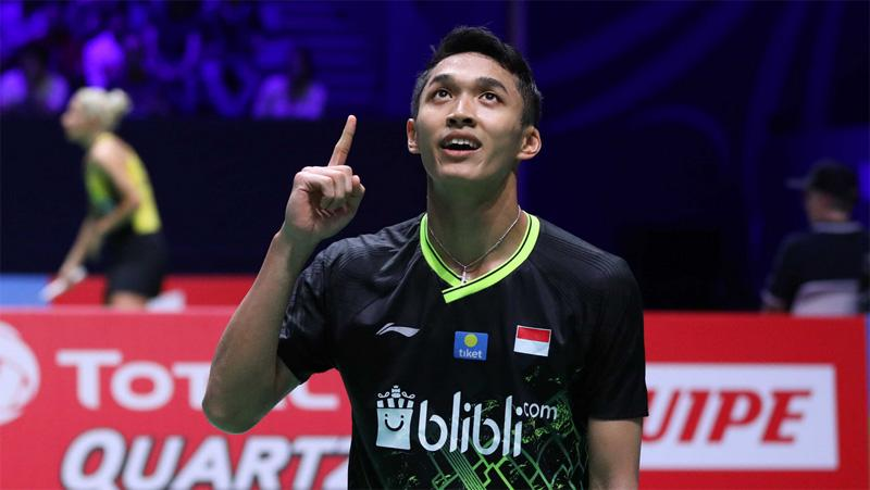 Jonatan Christie Jumpa Viktor Axelsen di Perempat Final Thailand Open 2021