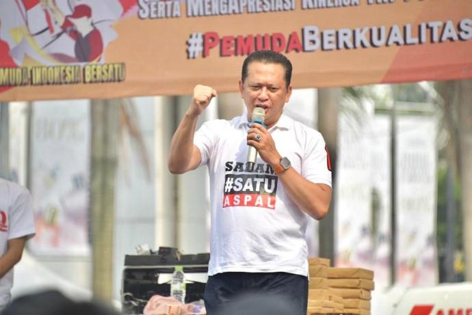 Ketua MPR Ajak Pemuda Membumikan Pancasila, Ini Lima Tantangannya