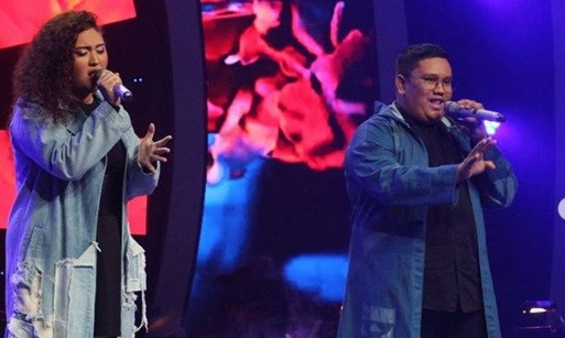 Duo Aca dan Kia Tampil Memukau di Live Round 2 The Voice Indonesia 2019