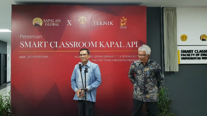 Saleh Husin: Smart Class Room FT UI Guna Mencetak SDM Unggul