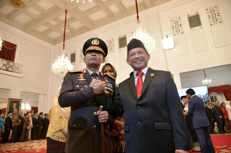 Pesan Mendagri Tito untuk Jenderal Idham Azis: Jadi Kapolri Tak Gampang
