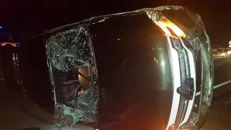 Kasdam Siliwangi Kecelakaan di Tol Purbaleunyi, Mobil Dinas Ditabrak hingga Terbalik