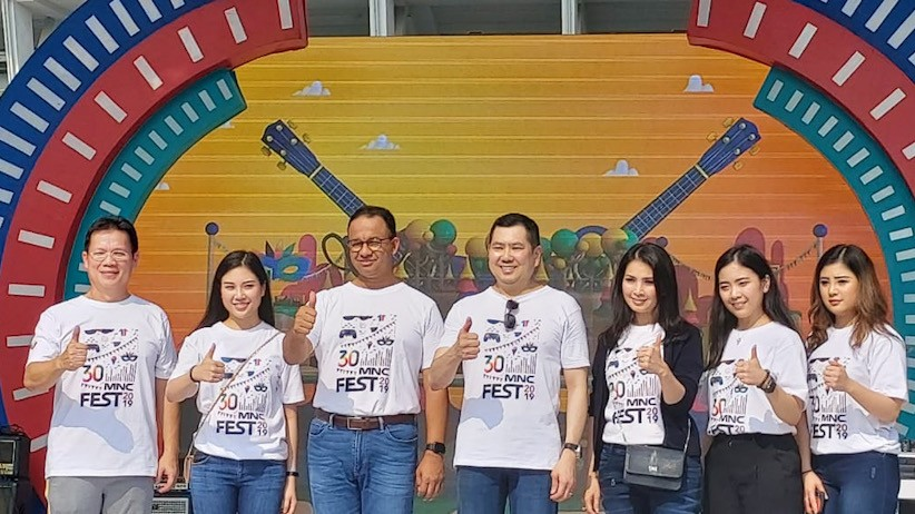 Momen Kemeriahan MNC Fest 2019 di HUT ke-30 MNC Group