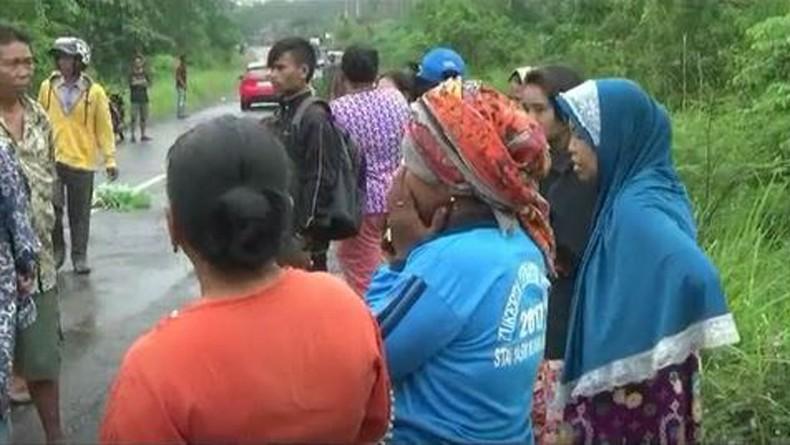 Pengendara Motor Tewas Jadi Korban Tabrak Lari di Jalan Lintas Jambi-Padang