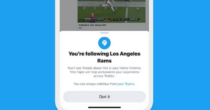 Twitter Rilis Fitur Topics, Permudah Pengguna Ikuti Topik Tertentu