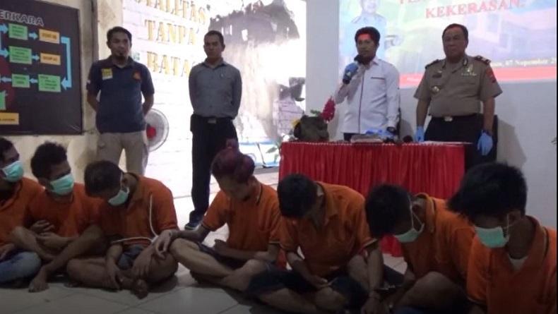 Polisi Tangkap Komplotan Begal Sadis di Banjarmasin, Pelaku Ternyata Masih Bocah