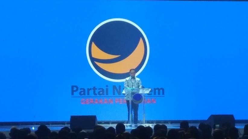 Di Kongres II Partai NasDem, Anies Baswedan Singgung Ketimpangan di Indonesia