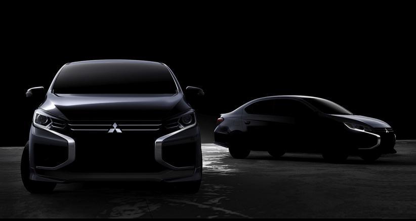 Beredar Teaser Mirage Versi Sedan, Kembali Berwajah Mirip Xpander