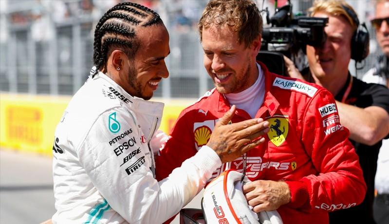 Kalah Lagi, Vettel Tak Ragu Puji Kualitas Hamilton
