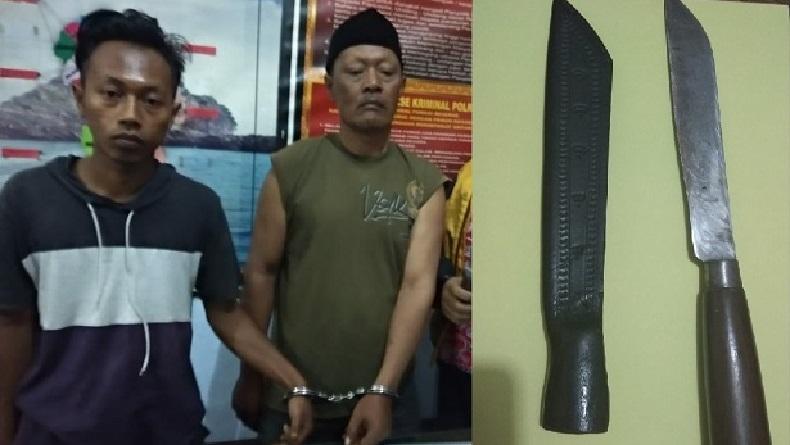 Penjaga Keamanan di Pasar Dampit Malang Dibacok Bapak dan Anak, Korban Luka-Luka