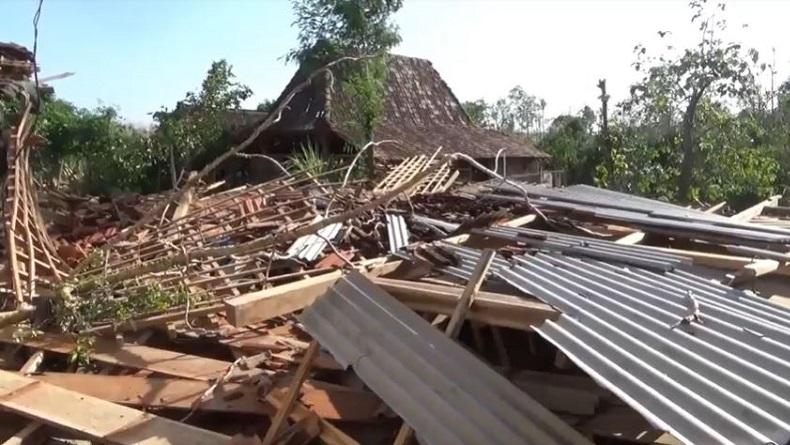 7 Rumah di Boyolali Ambruk Diterjang Angin Puting Beliung, Tidak Ada Korban Jiwa