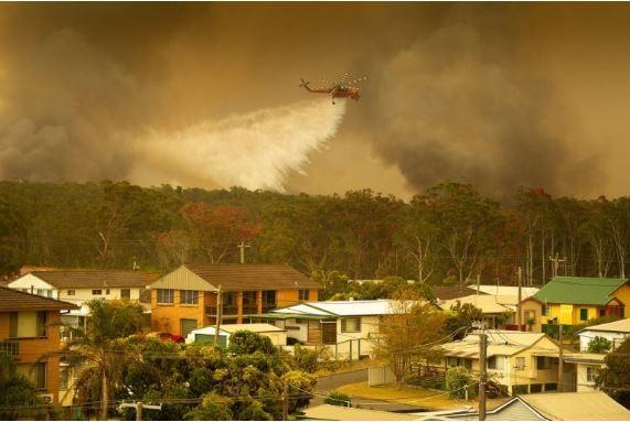 Api Mulai Membakar Rumah di Utara Sydney Australia, Petugas Beri Peringatan ke Warga