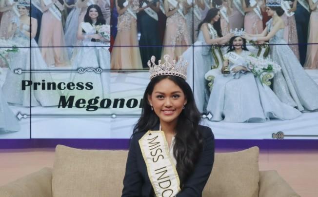 Tiba di London, Princess Megonondo Siap Wakili Indonesia di Miss World 2019