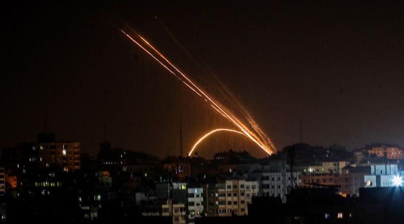 Israel: 2 Roket Ditembakkan dari Gaza, Tak Ada Korban