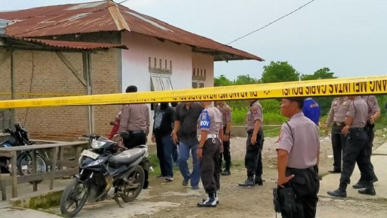 Rumah Merah Muda di Sekitar Lokasi Perakitan Bom Medan Digeledah Tim Densus 88