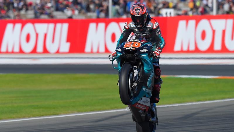 Hasil Kualifikasi MotoGP Valencia: Quartararo Raih Pole Position Ke-6