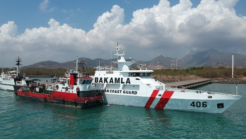 Bakamla Tangkap Kapal Diduga Muat BBM Ilegal di Perairan Cilegon