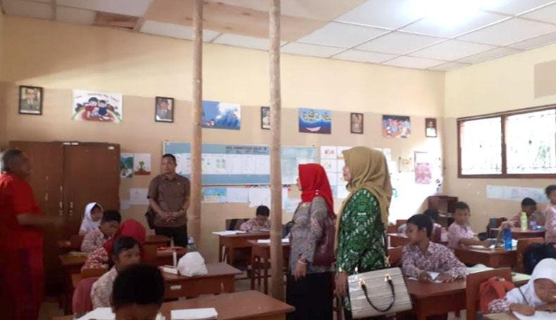Atap SD Tegalsari Kulonprogo Nyaris Ambruk, Keselamatan Siswa dan Guru Terancam