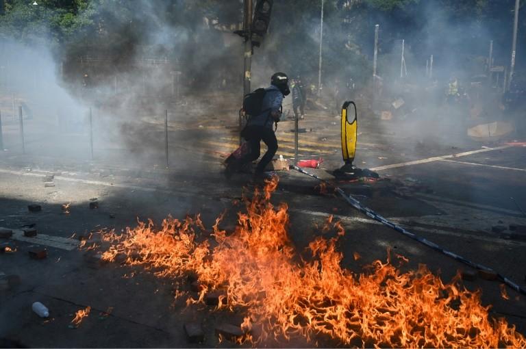 China: RUU HAM dan Demokrasi yang Disahkan AS Bertujuan Hancurkan Hong Kong
