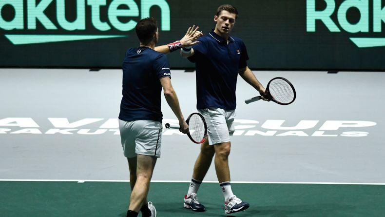 Murray/Skupski Jadi Penentu Kemenangan, Britania Raya ke Perempat Final Piala Davis 2019