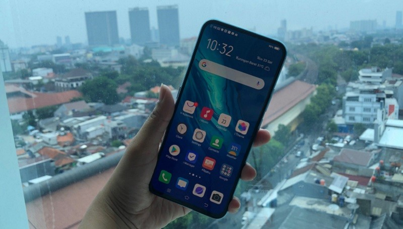 Vivo V17 Pro, Smartphone Model Pop-up dengan Dua Kamera Selfie