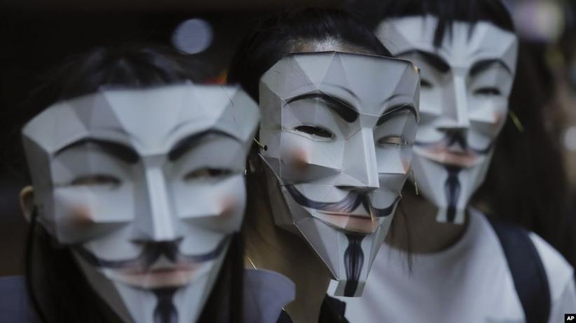 Hong Kong Terapkan Lagi Larangan Demonstran Bertopeng dan Pakai Penutup Wajah