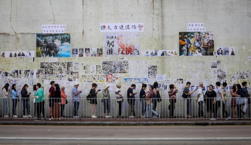 Hong Kong Tenang Hari Ini, Jutaan Warga Padati TPS untuk Pemilu Dewan Distrik