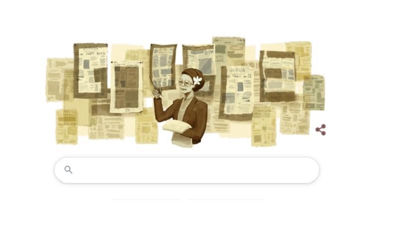 Google Doodle Hari Ini Tampilkan Sosok Wartawati Senior Ani Idrus