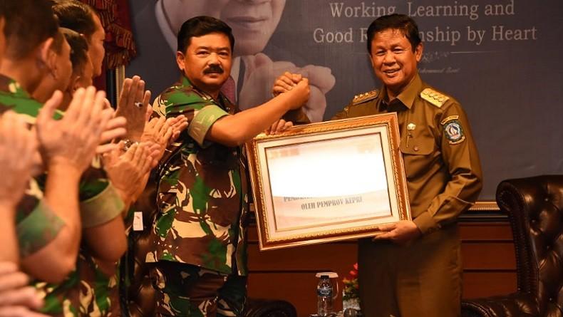 Panglima TNI Tinjau Lokasi Makogabwilhan I di Tanjungpinang Kepri