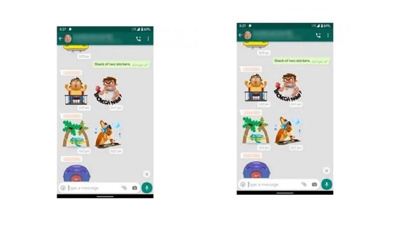 WhatsApp Web Akhirnya Mendapat Dukungan Grouped Stickers