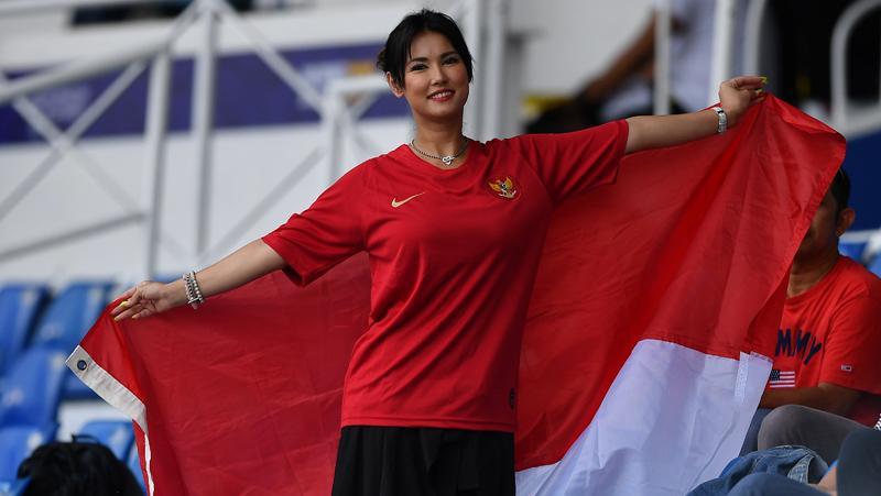 Dukung Timnas U-23 di SEA Games 2019, Maria Ozawa: Semoga Indonesia Menang Terus