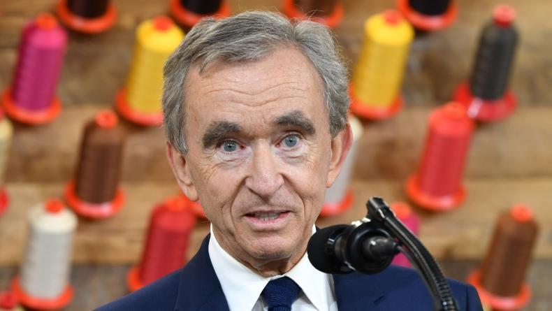 Kekayaan Bos Louis Vuitton Naik Rp1.370 Triliun dalam Setahun