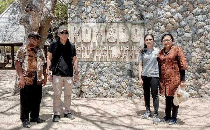 Wishnutama dan Angela Tanoesoedibjo Tinjau Pengembangan Destinasi Super Prioritas Mandalika & Labuan Bajo