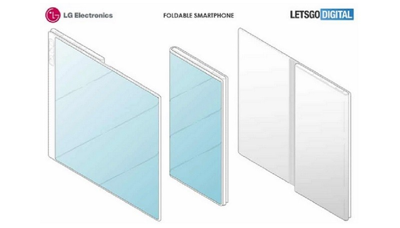 Desain Ponsel Layar Lipat LG Mirip Huawei Mate X