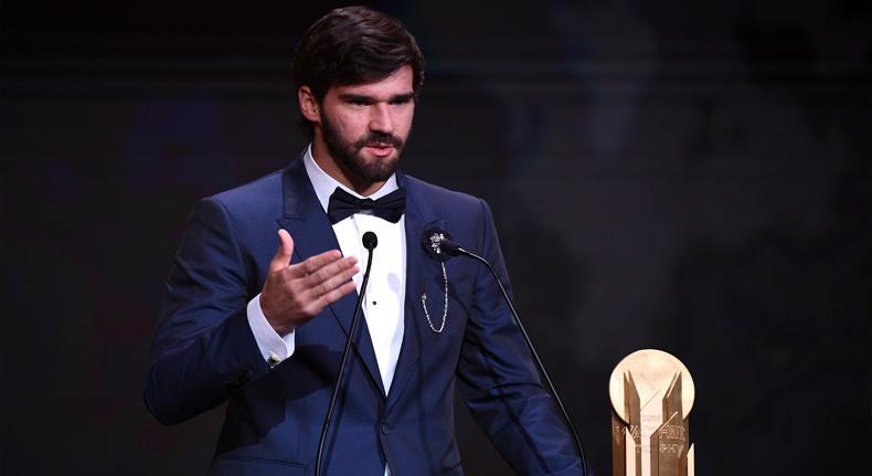 Alisson Raih Gelar Kiper Terbaik, Ini Daftar Pemenang di Malam Penghargaan Ballon d'Or 2019