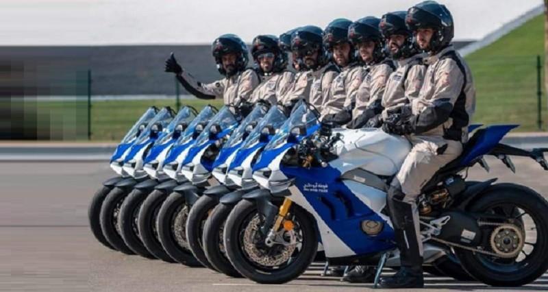 Selain Supercar, Kepolisian di Arab Juga Gunakan Superbike untuk Patroli