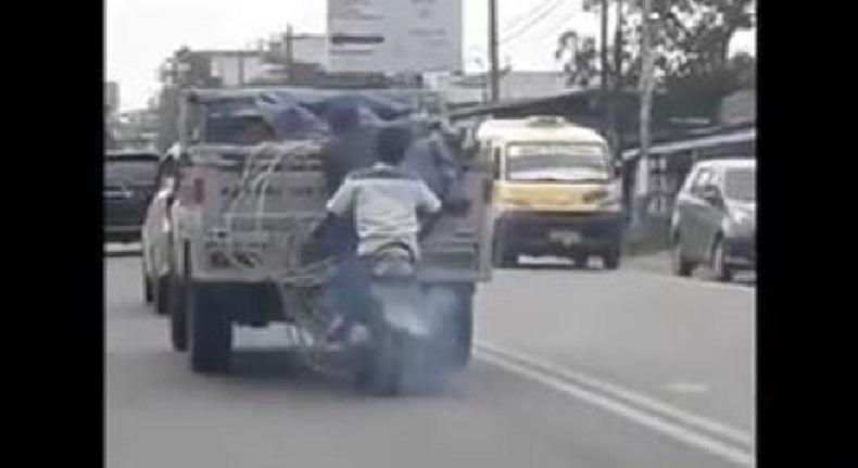 Video Bajing Loncat di Deliserdang Viral, Pengemudi Truk Mengaku Resah