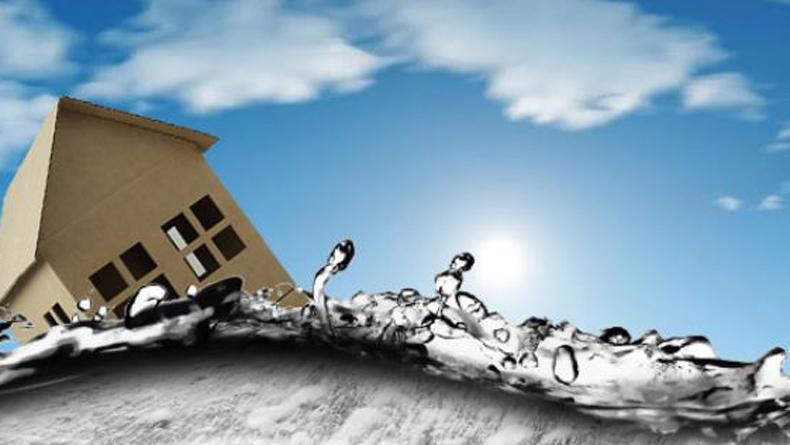 Banjir Rendam Rumah Warga di Sintang Kalbar, Ketinggian Air Capai 10 Meter