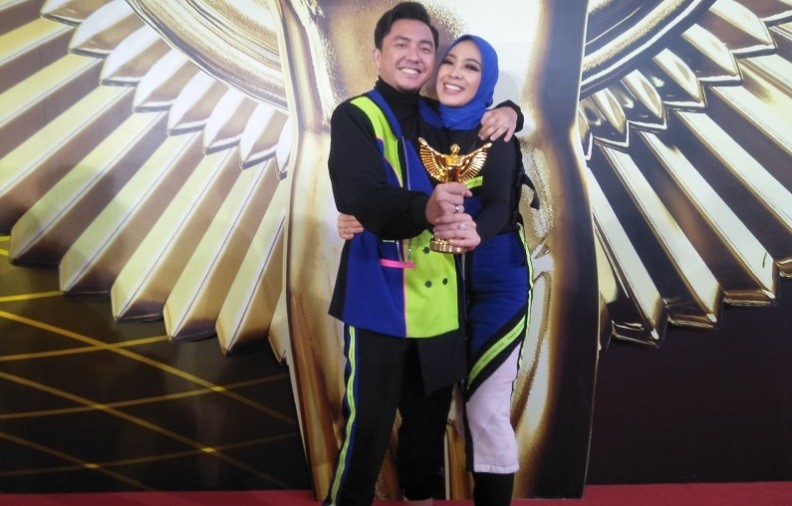 Pandu Acara The Voice Indonesia di GTV, Ananda Omesh Menang Panasonic Gobel Awards 2019