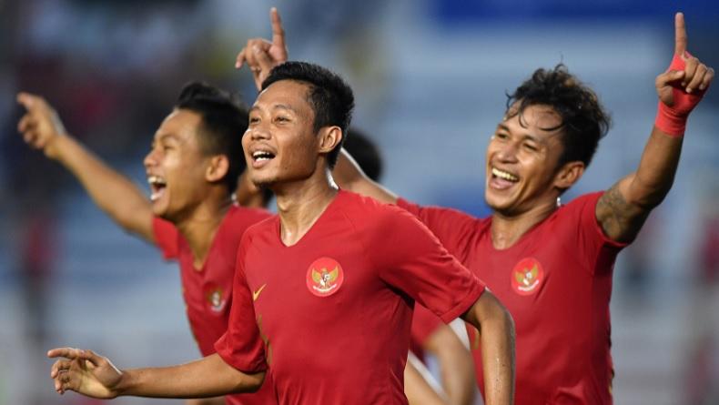 Ini Rahasia Evan Dimas 2 Kali Jebol Gawang Myanmar di Semifinal SEA Games 2019