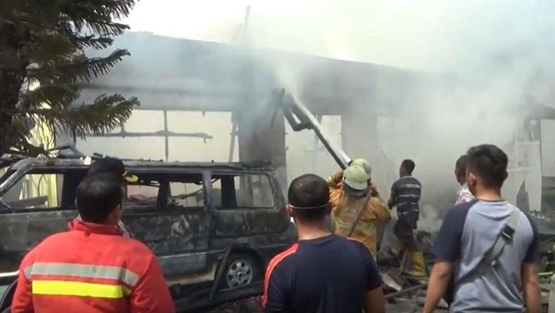 Pabrik Scaffolding di Sidoarjo Terbakar, 1 Karyawan Tewas, 8 Luka