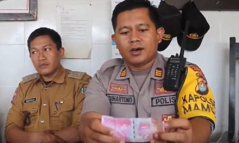 Lurah di Mamuju Laporkan Maraknya Peredaran Uang Palsu, Polisi Dalami Kasus