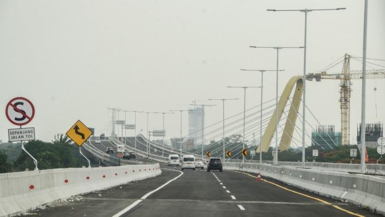 Jalan Tol Jakarta-Cikampek II Pagi Ini Resmi Dibuka untuk Umum